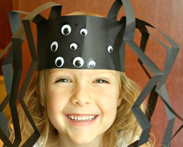 Spider Headband Craft