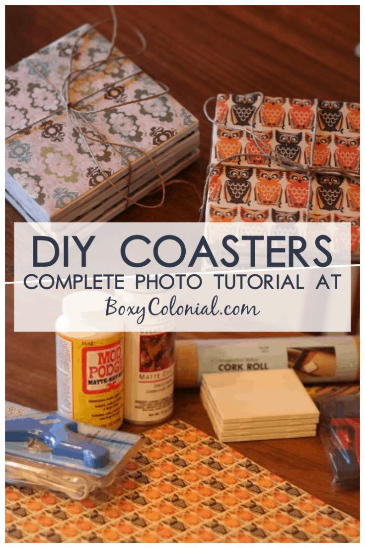 DIY Coasters for Christmas!