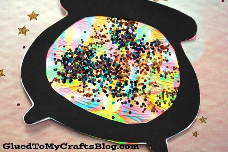 Paint Splat Witch's Cauldron
