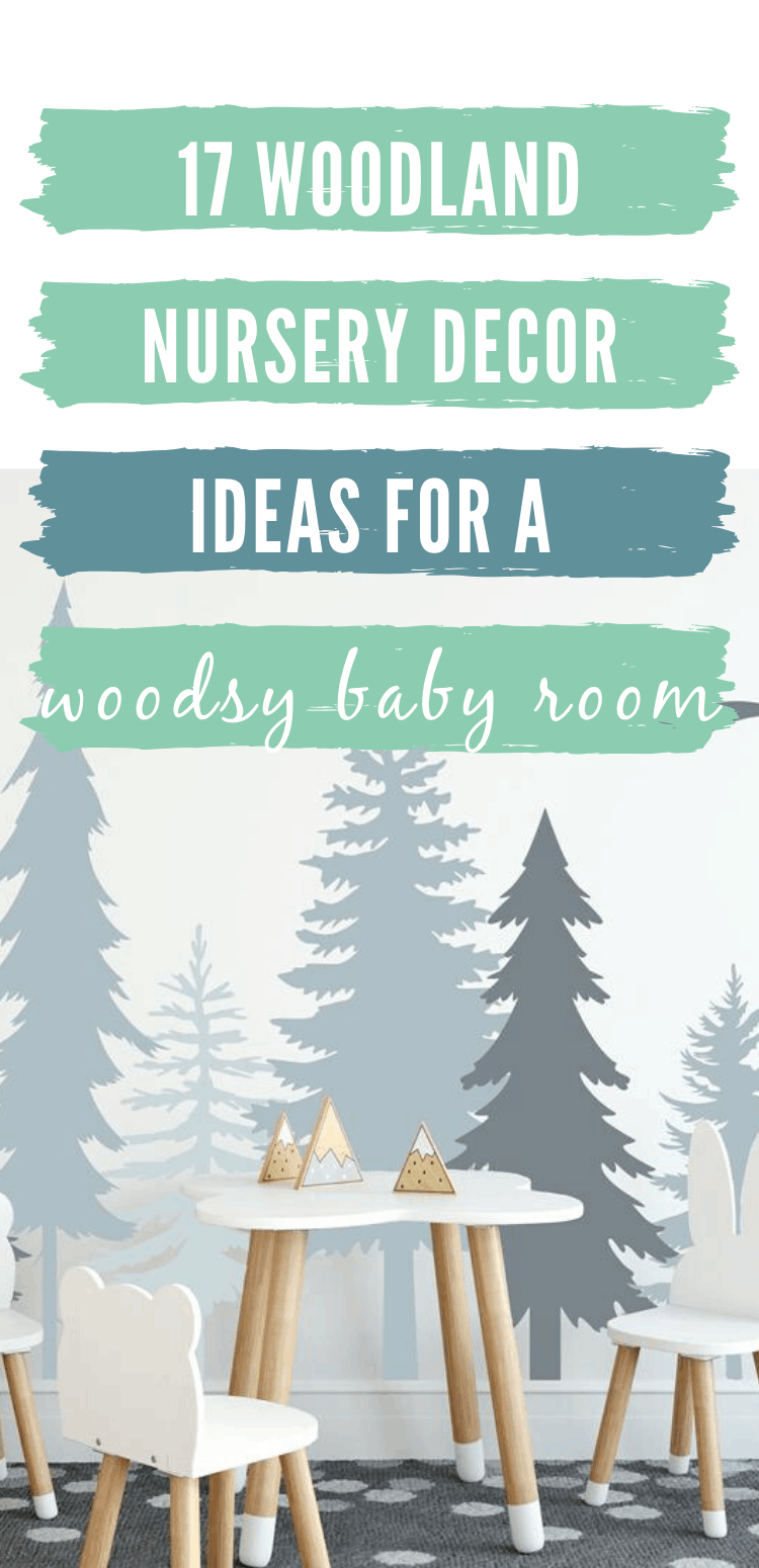 woodland nursery decor/rustic woodland nursery decor
