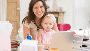 How To Work From Home With Kids (11 tips For actually getting work done at home with a baby or toddler)