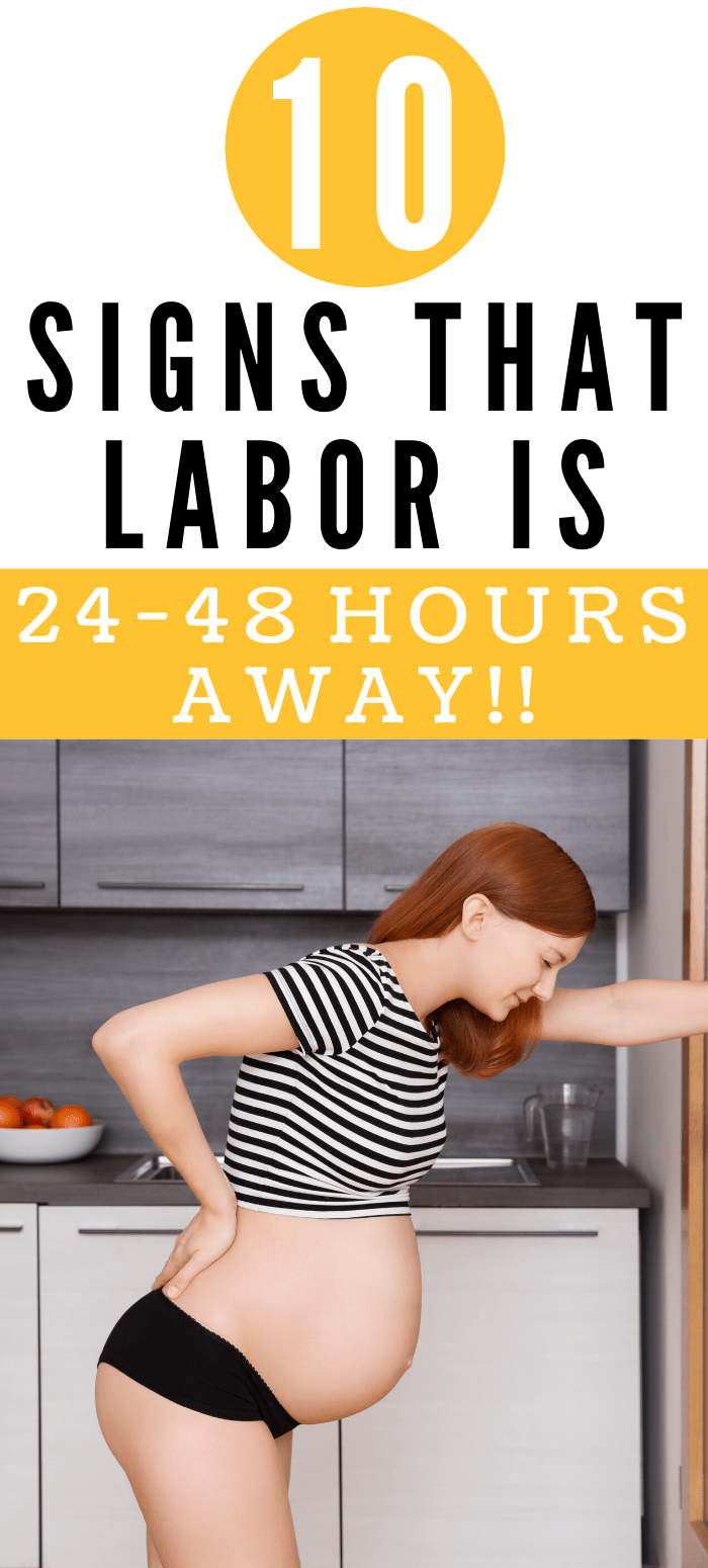signs of labor/signs of labor coming soon