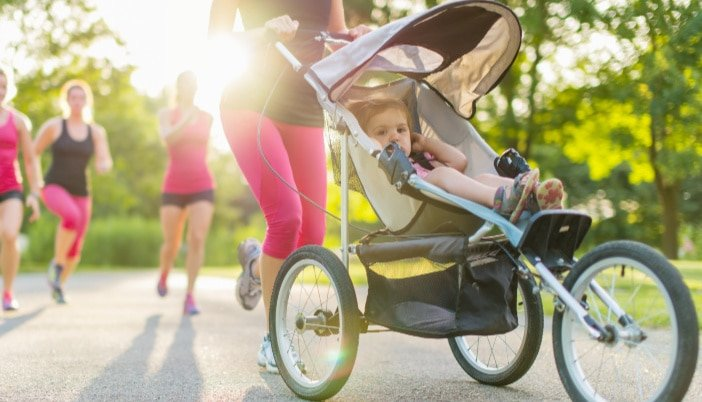 how to start running/exercise after baby/postpartum fitness