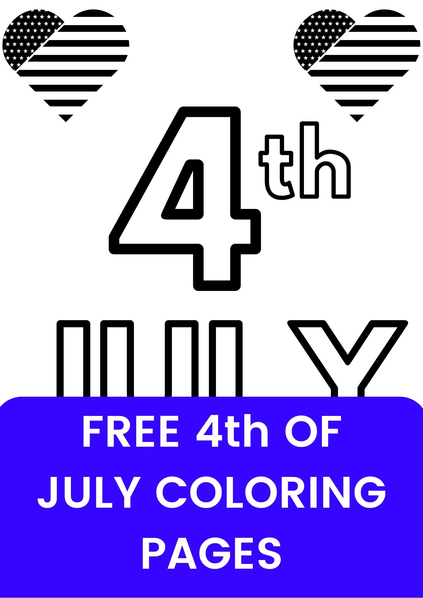july 4 coloring pages/free printable 4th july coloring page