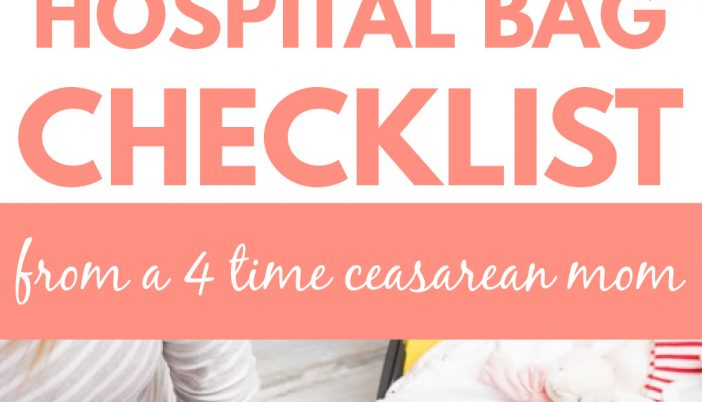 scheduled c section hospital bag checklist/what to pack for a c section hospital bag