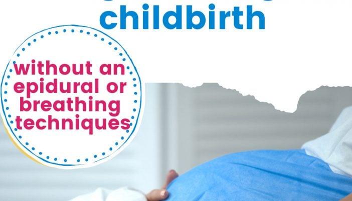 birth affirmations/positive birth affirmation cards