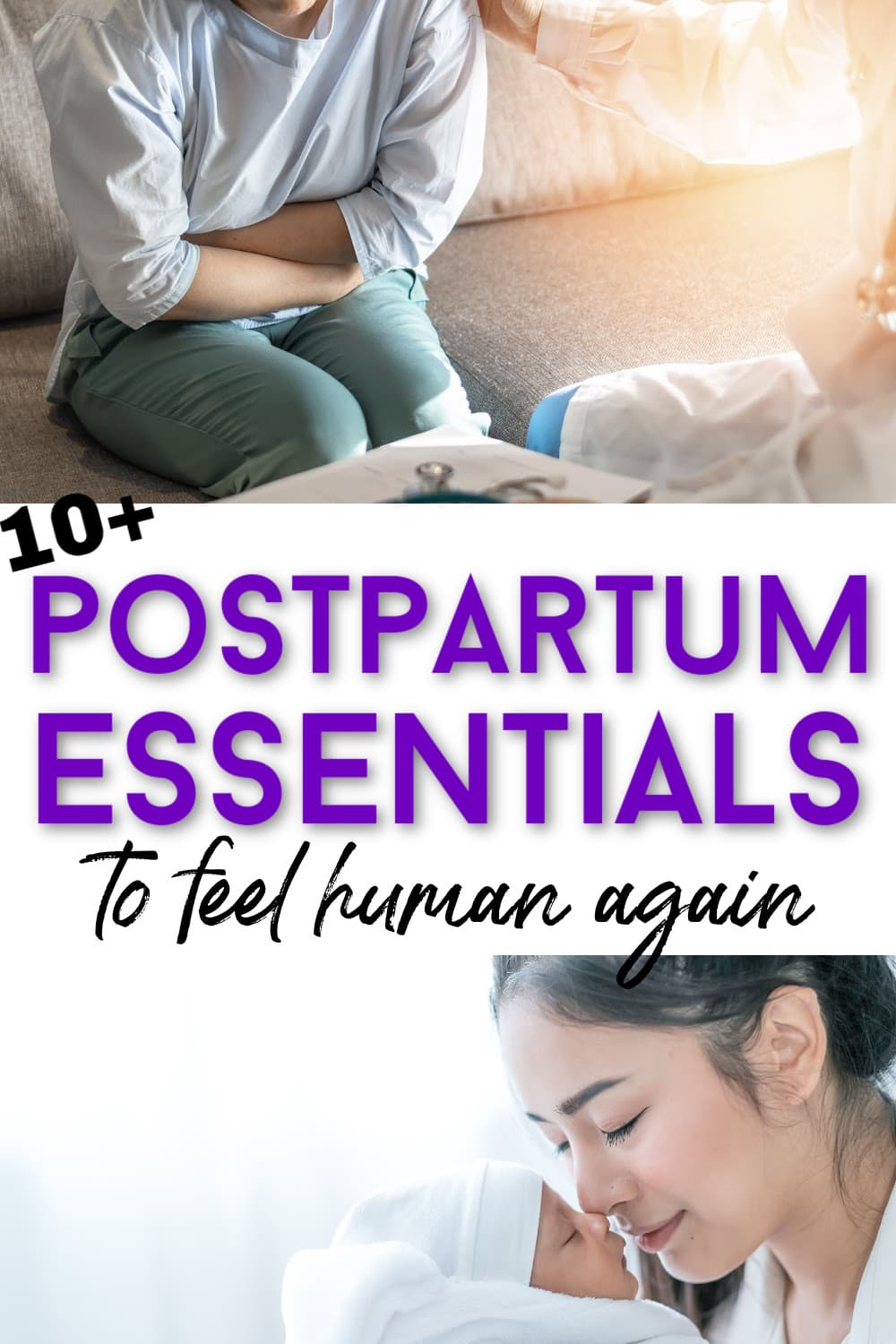 postpartum recovery kit
