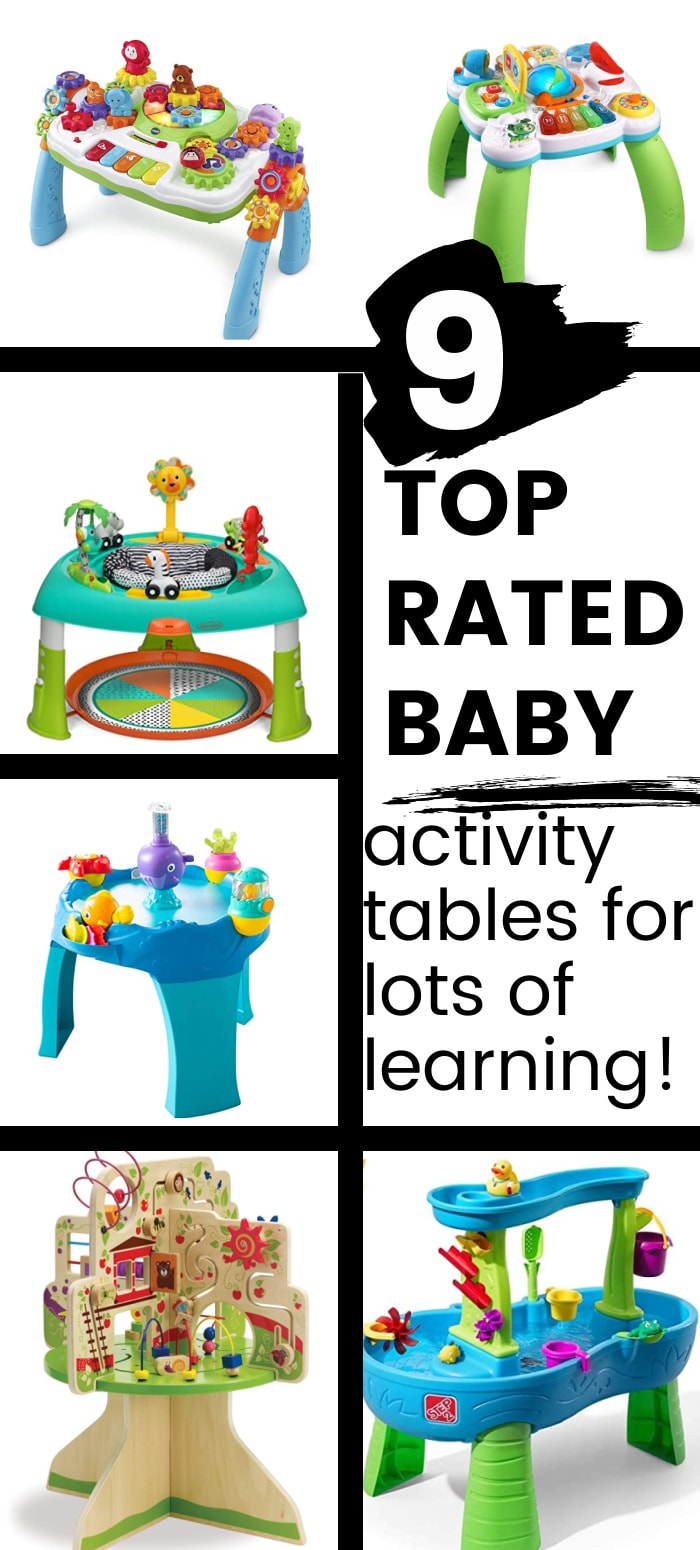 best baby activity table/play table for baby