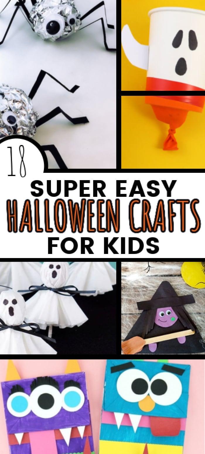 diy halloween crafts/halloween crafts for preschoolers