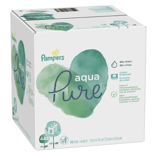 Pampers Water Wipes