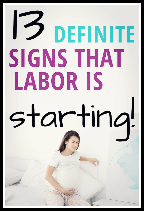 Signs And Symptoms Of Approaching Labor