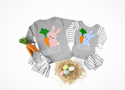 KIDS EASTER PAJAMAS
