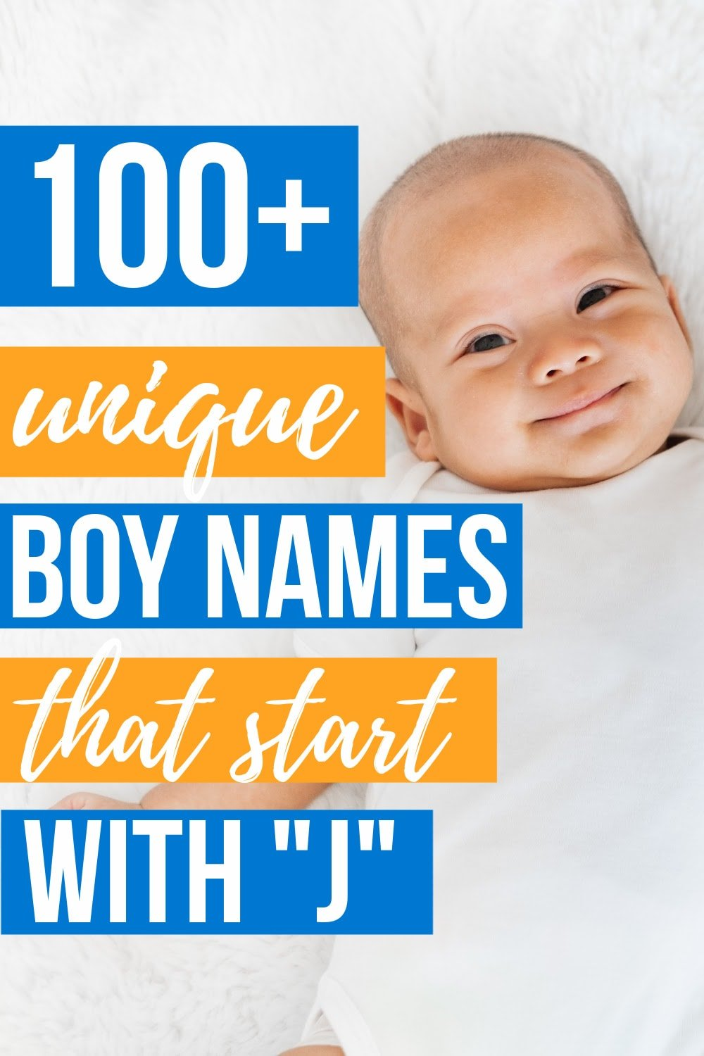BOY NAMES STARTING WITH J