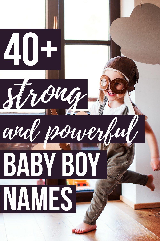 POWERFUL BOY NAMES